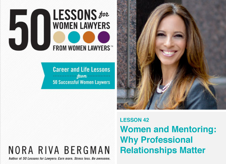 50 Lessons for Women Lawyers book cover with Michelle Suskauer headshot