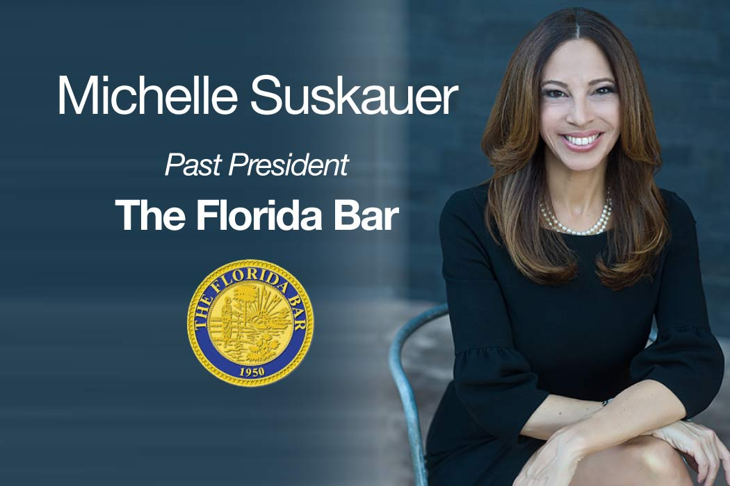 photo of Michelle Suskauer with title